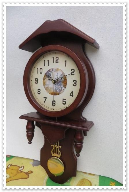 Rustik Büyük Duvar Saati