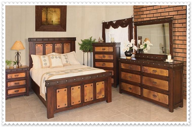 Rustik Yatak Odası Modelleri-2