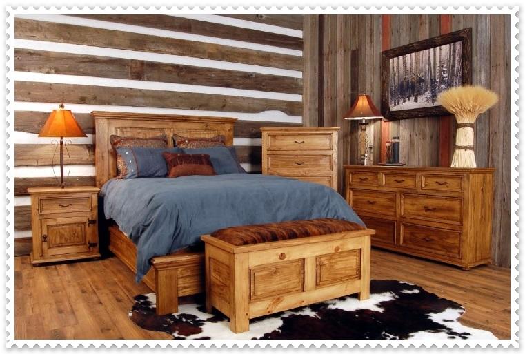Rustik Yatak Odası Modelleri-3