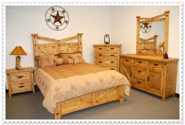 Rustik Yatak Odası Modelleri-4