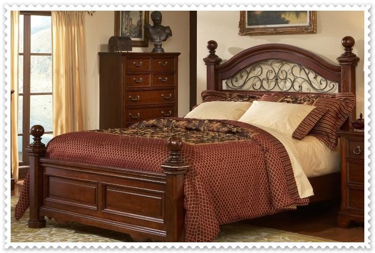 Rustik Yatak Odası Modelleri-5