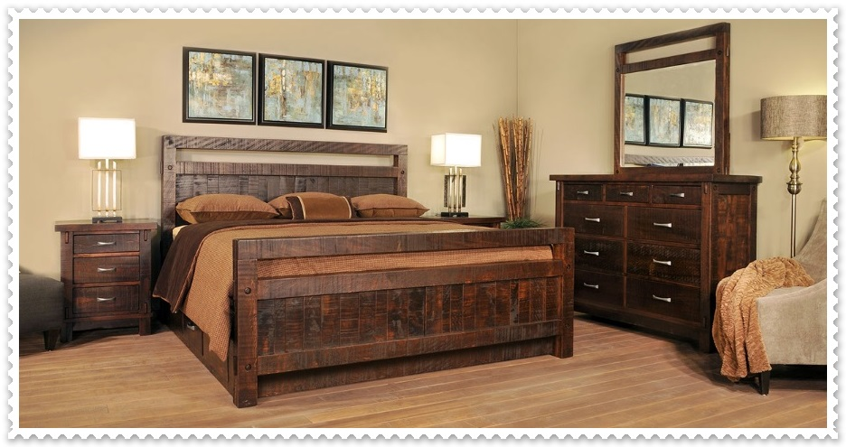 Rustik Yatak Odası Modelleri-7