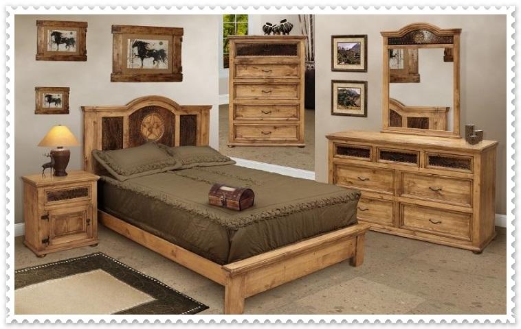 Rustik Yatak Odası Modelleri