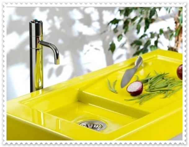 Sarı Lavabo Modelleri