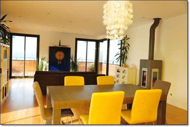 Sarı Yemek Odası