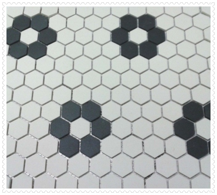 Siyah Beyaz Banyo Fayansları-5