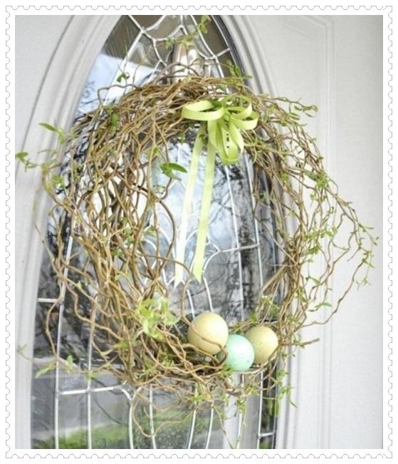 Yumurta Dış Kapı Süsleri