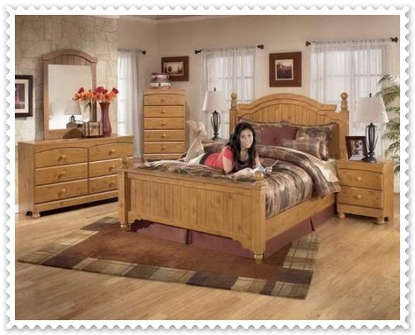 Zarif Rustik Yatak Odası Modelleri