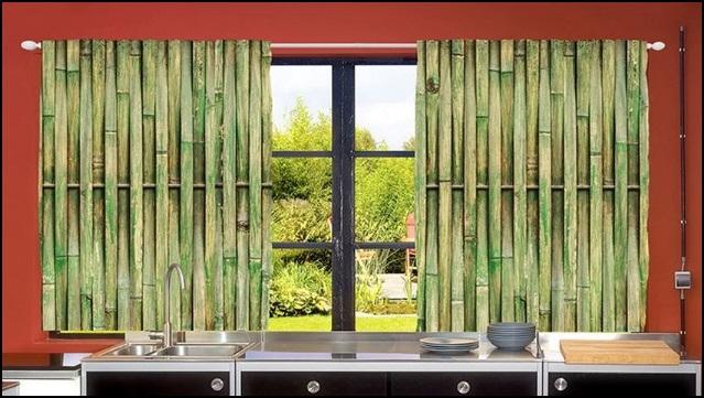 Bambu Mutfak Perdesi