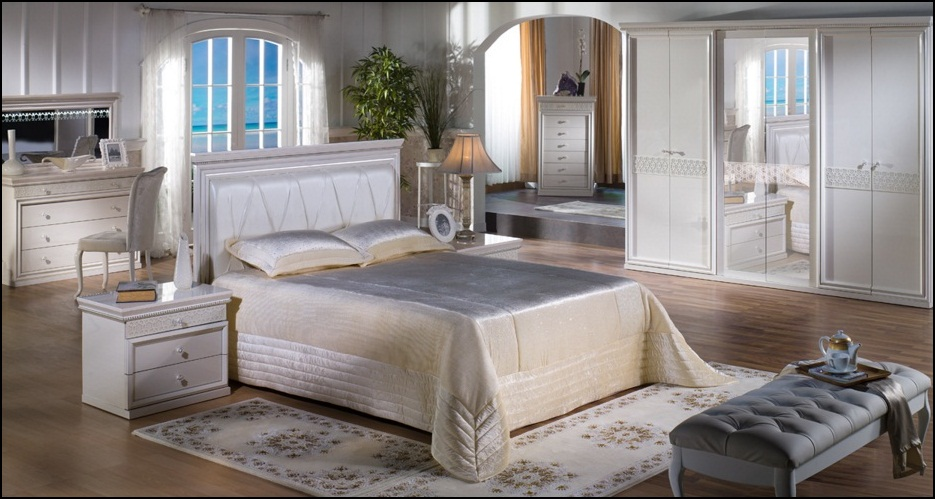 Barok Yatak Odası Takımı