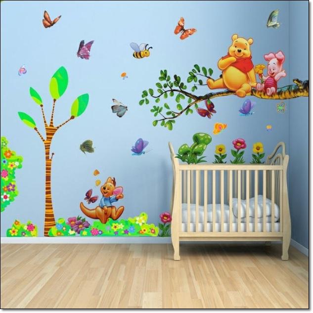 Bebek Odası Duvar Stickarları