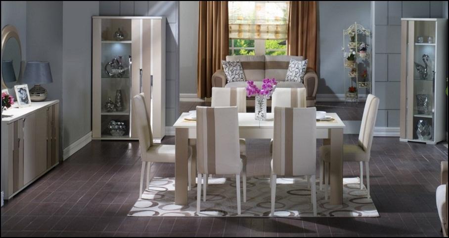 Kayra yemek odas dekorasyon modelleri for Salle a manger mobilia maroc