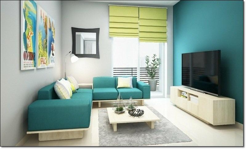 Salon Dekorasyonu Renk Uyumu-3