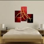 Romantik Yatak Odası Tablo
