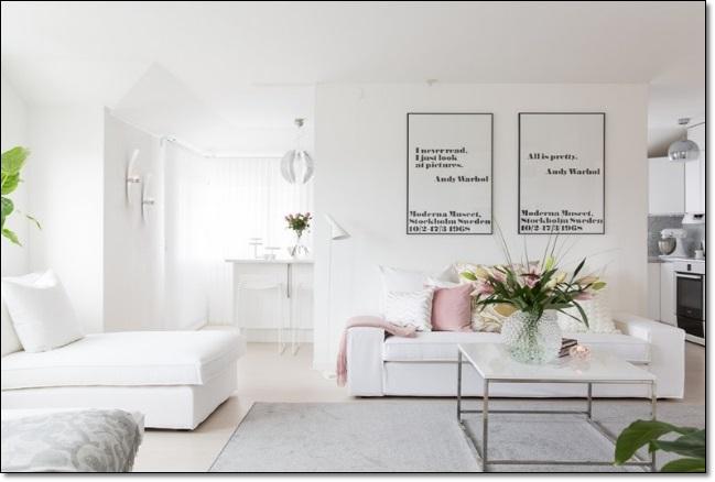 Beyaz Ev Dekorasyonu 2 Dekorasyon Modelleri