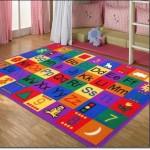 Harfli Bebek Odası Halısı