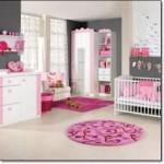 Pembe Bebek Odası Halısı