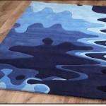 Tasarım Mavi Halı Modelleri