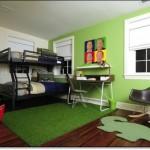 Yeşil Genç Odası Halısı
