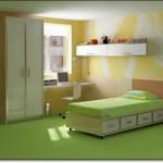 Yeşil Genç Odası Halısı-2