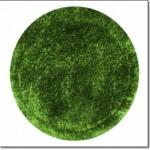 Yeşil Yuvarlak Halı Modeli