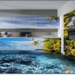 3D Mutfak Zemin Kaplama