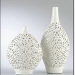Beyaz Seramik Vazo Modelleri