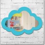 Bulut Bebek Odası Aynası