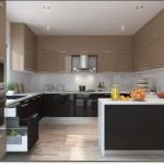 Büyük U Mutfak Modelleri