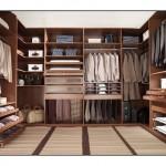 Kahverengi Kıyafet Odaları