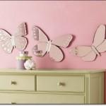 Kelebek Bebek Odası Aynası