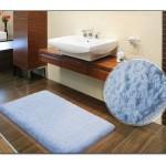 Mavi Banyo Halısı