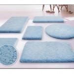 Mavi Banyo Halısı Modelleri