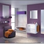 Mor Renkli Banyo Modelleri-10