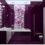 Mor Renkli Banyo Modelleri-11