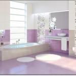 Mor Renkli Banyo Modelleri-12