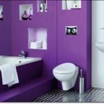 Mor Renkli Banyo Modelleri-4