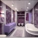 Mor Renkli Banyo Modelleri-6