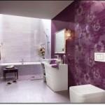 Mor Renkli Banyo Modelleri-7