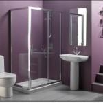 Mor Renkli Banyo Modelleri-8