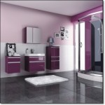 Mor Renkli Banyo Modelleri-9