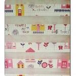 Pembe Çocuk Odası Perdeleri