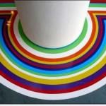 Renkli Zemin Dekorasyonu