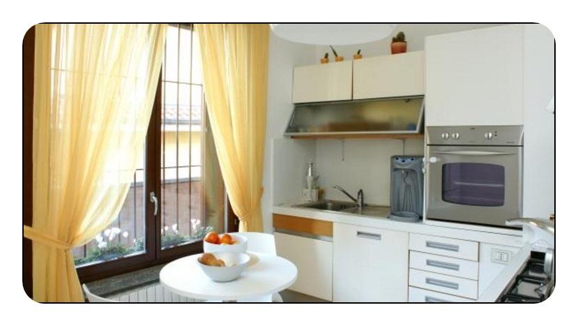 Sarı Mutfak Perdesi