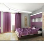 Şık Yatak Odası Perdeleri