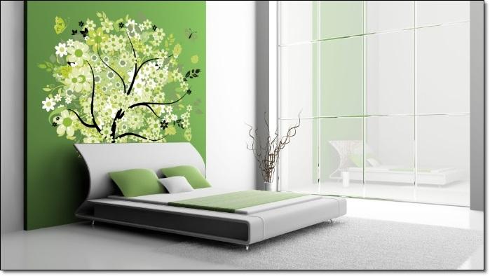 Amazon Yeşili Dekorasyon