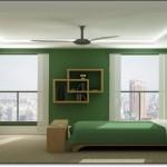 Amozon Yeşili Yatak Odası