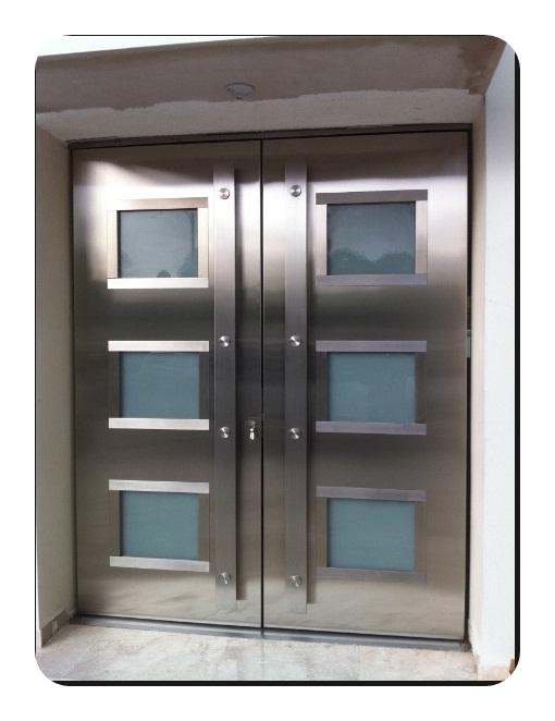 Çelik Apartman Giriş Kapısı