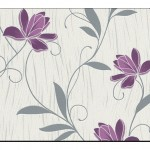 Çiçek Desenli Duvar Kağıtları-10