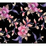 Çiçek Desenli Duvar Kağıtları-3